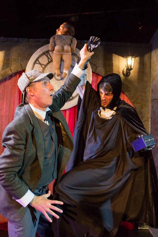 Julian Harries & Patrick Neyman in Sherlock Holmes & The Hooded Lance