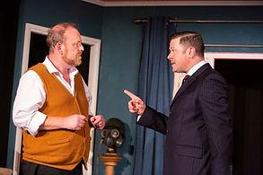 Dick Mainwaring & Charles Davies in A SIDECAR NAMED DESPAIR!