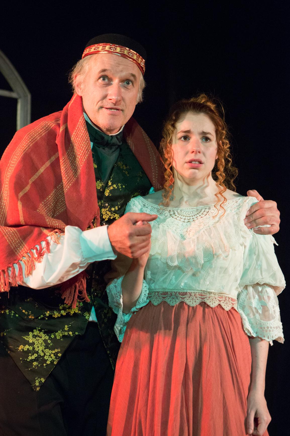 Julian Harries & Eloise Kay in THE OLD CURIOSITY SHOP