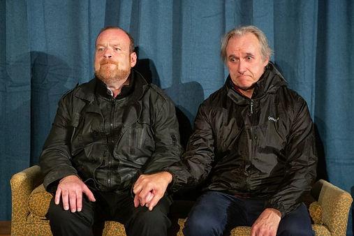 Dick Mainwaring & Julian Harries in A SIDECAR NAMED DESPAIR!