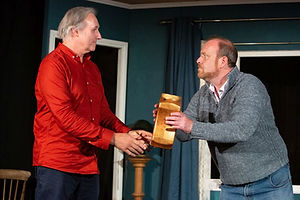 Julian Harries & Dick Mainwaring in A SIDECAR NAMED DESPAIR!