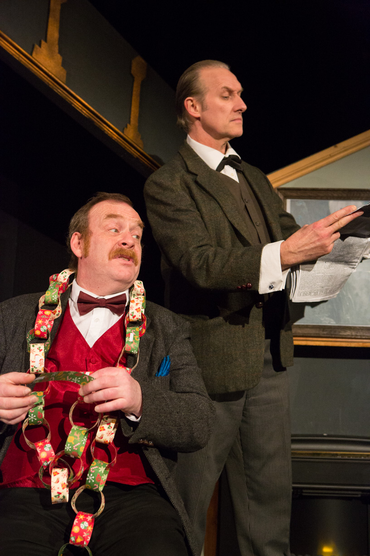Dick Mainwaring & Julian Harries in Sherlock Holmes & The Hooded Lance
