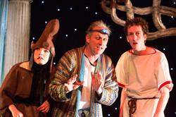 Alice Mottram, Julian Harries & Matt Jopling in JUSTIN & THE ARGONAUTS