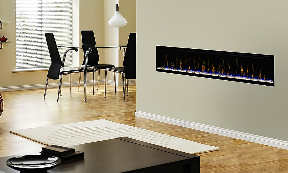 Dimplex Excite 74-In Linear Electric Fireplace -REL7