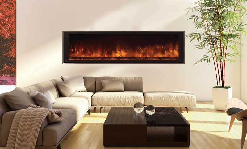 Modern Flames Landscape FullView 60-in Built-In Electric Fireplace - LFV2-60/15-