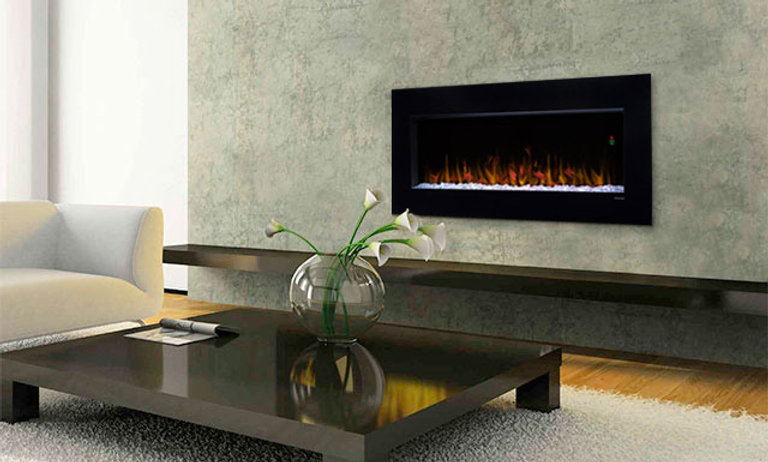 Dimplex 43-In Nicole Wall Mount Electric Fireplace - DWF3651B
