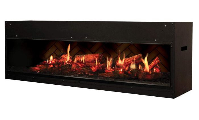 Dimplex VF5452L Opti-V Duet Electric Fireplace, 54-Inch