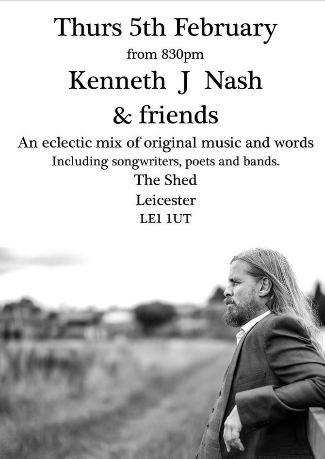 Christopher joins Kenneth J Nash & friends Tour