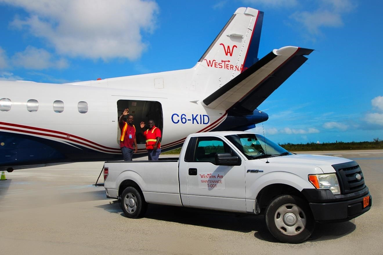 Western Air Freeport Ground Support
