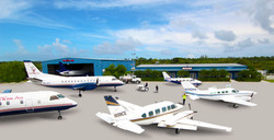 Western Air, Facilities, Bahamas