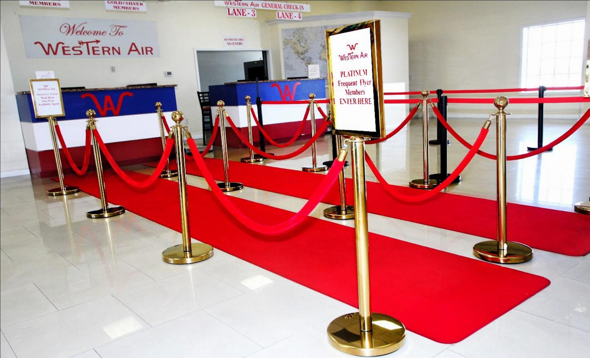 Western Air Red Carpet