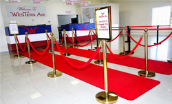Western Air Red Carpet