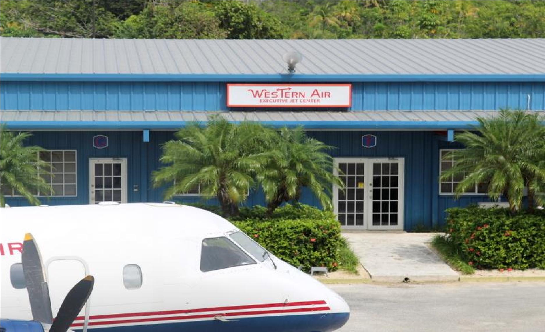 Western Air Facility San Andros