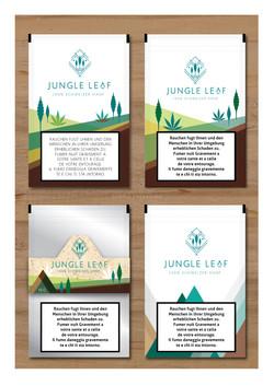 Jungle Leaf Logo Present-04
