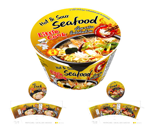 Little Cook-Noodle Jae Sea Food-Packagin
