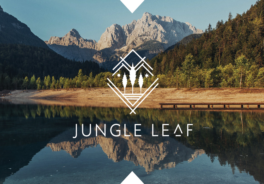 Jungle Leaf Logo Present-06