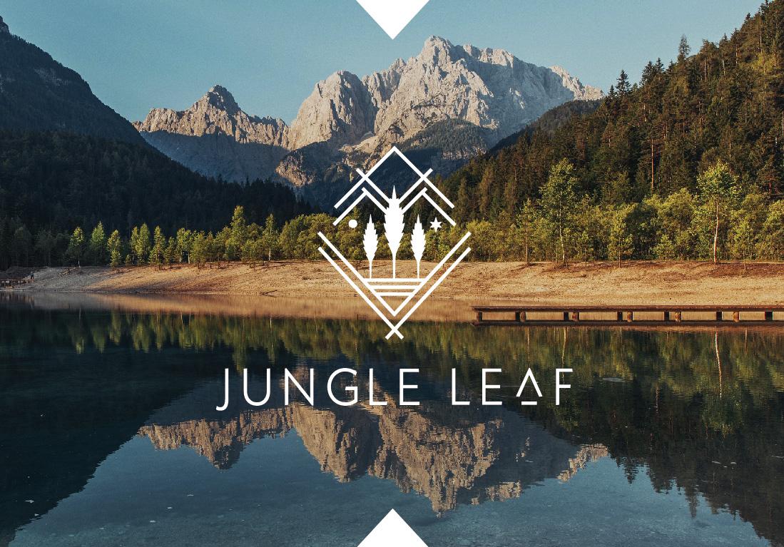 Jungle Leaf Logo Present-06