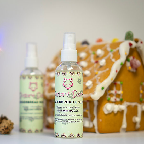Gingerbread Hound freshen up spray