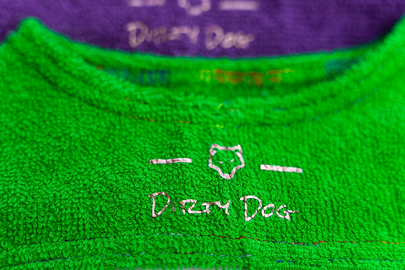 Dirty Dog Robe Green