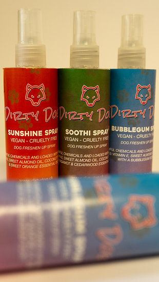Complete Freshen up spray Collection.