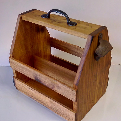 Handcrafted 6-Pack Holder - Rustic