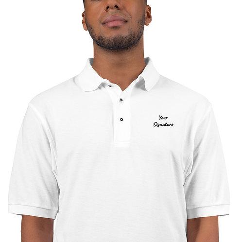 Your Signature Custom Men's Premium Polo