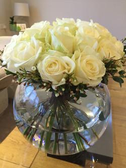 Packed rose display
