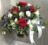grand prix roses, agapanthus, lissianthus, pitto