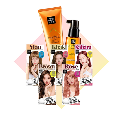 [Bundle] Mise En Scene Hair Package *Pick your choice of Hair Color*