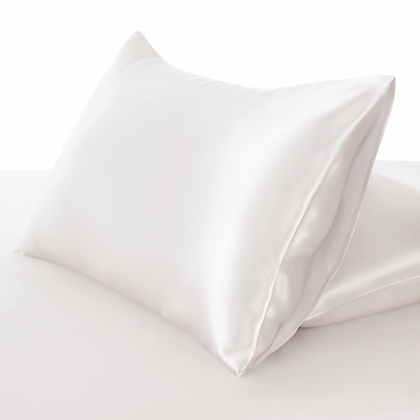 [OUTGLOW] Silk Pillow Case Pearl