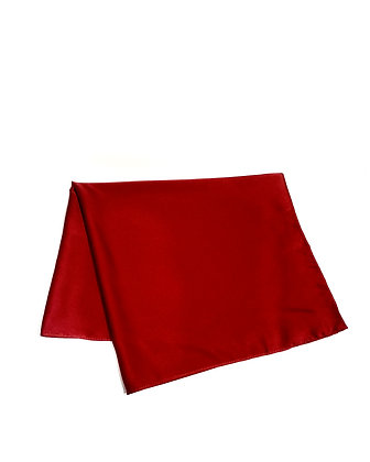 [OUTGLOW] Silk Scaft Top Red