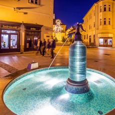 Jedlik-Brunnen