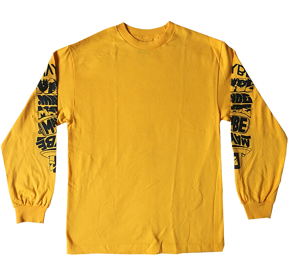 MAYBE INTENSE LONG SLEEVE - GOLD