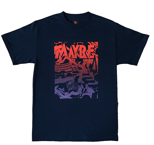 LABYRINTH T-SHIRT NAVY