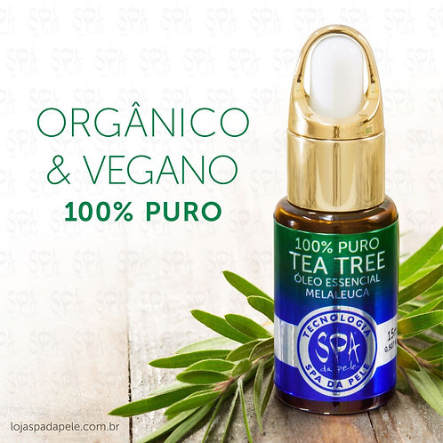 Óleo Essencial de Melaleuca 100% PURO - Tea Tree 100% Puro