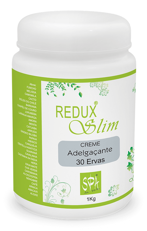 REDUX SLIM CREME Adelgaçante 30 Ervas - 1kg