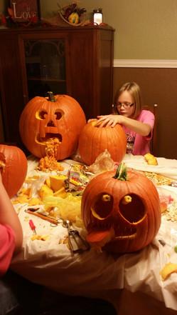 Pumpkins done