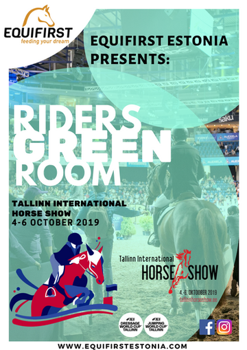 Tallinn International Horse Show 2019 & Equifirst Riders Green Room