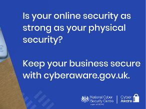 Cyber Aware campaign to help keep you secure online