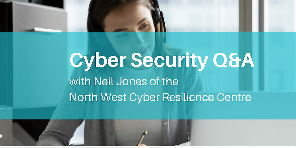 Cyber Security Q&A with the North West Cyber Resilience Centre