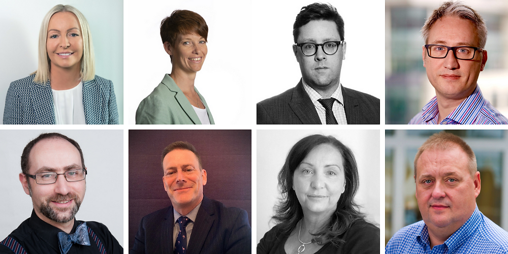 Cyber Expert Group is lead by Beverley McGowan, including David Cook and Amy Lemberger
