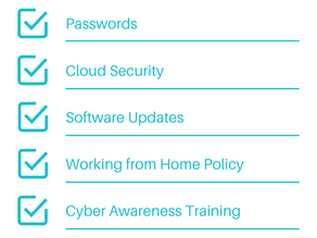 What should be on your Cyber Security Checklist?