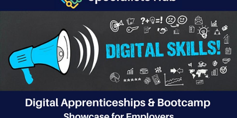 Digital Apprenticeships & Bootcamp Showcase For Employers