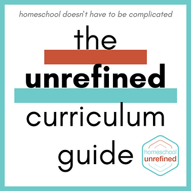 homeschool doesn't have to be complicate
