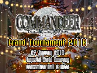 Commandeer Grand Tournament 2018