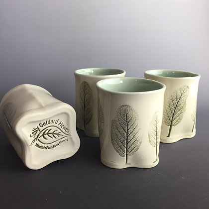 Sage leaf cups (2) Priced each