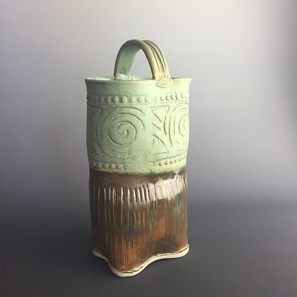 Vase/ container with handle