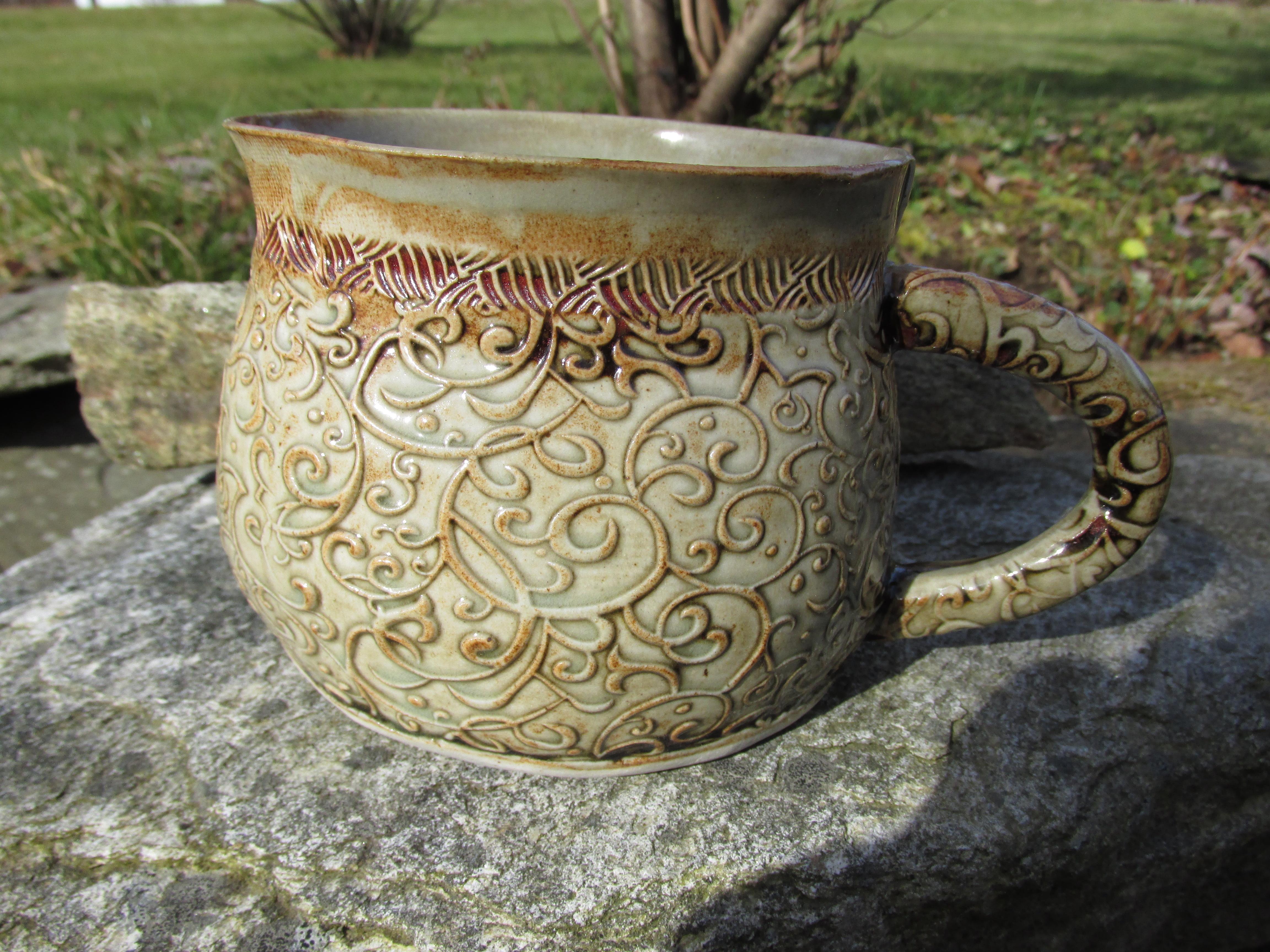 Large soup mug