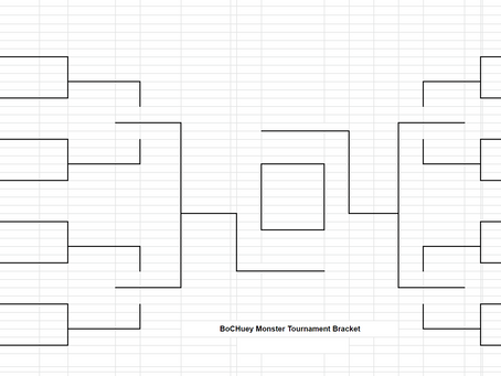 The BoCHuey Monster Tournament Bracket