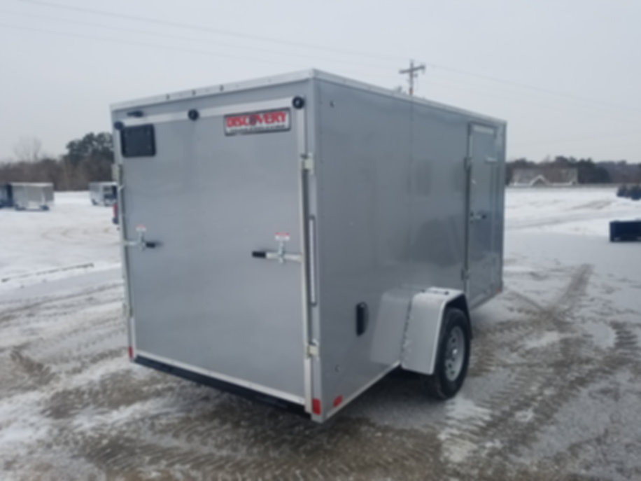 2020Discovery Rover ET Enclosed Trailers (Steel) 